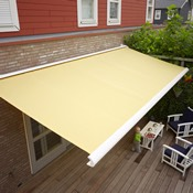 Sun Awning in Yellow
