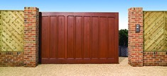 Tudor sliding gates