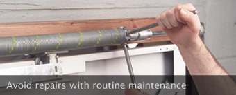 Avoid repairs with routine maintenance