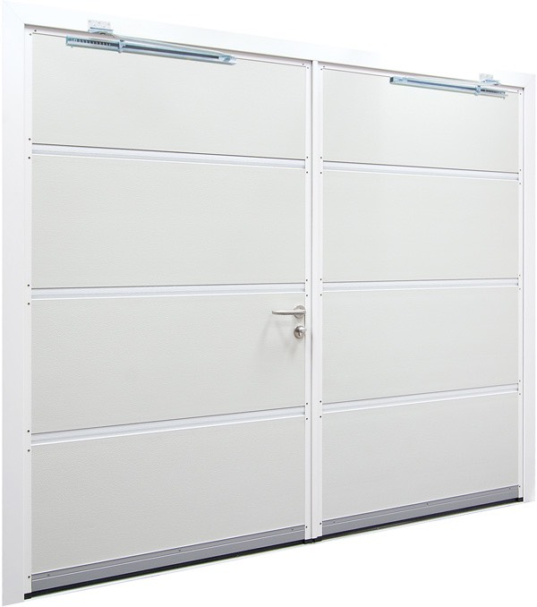 Double Hinged Garage Doors : Garage doors newcastle nortech