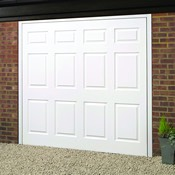Berwick woodgrain GRP garage door