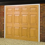 Whitton woodgrain GRP garage door