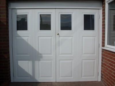 Garage doors newcastle newcastle garage doors nortech for Insulated garage door window inserts