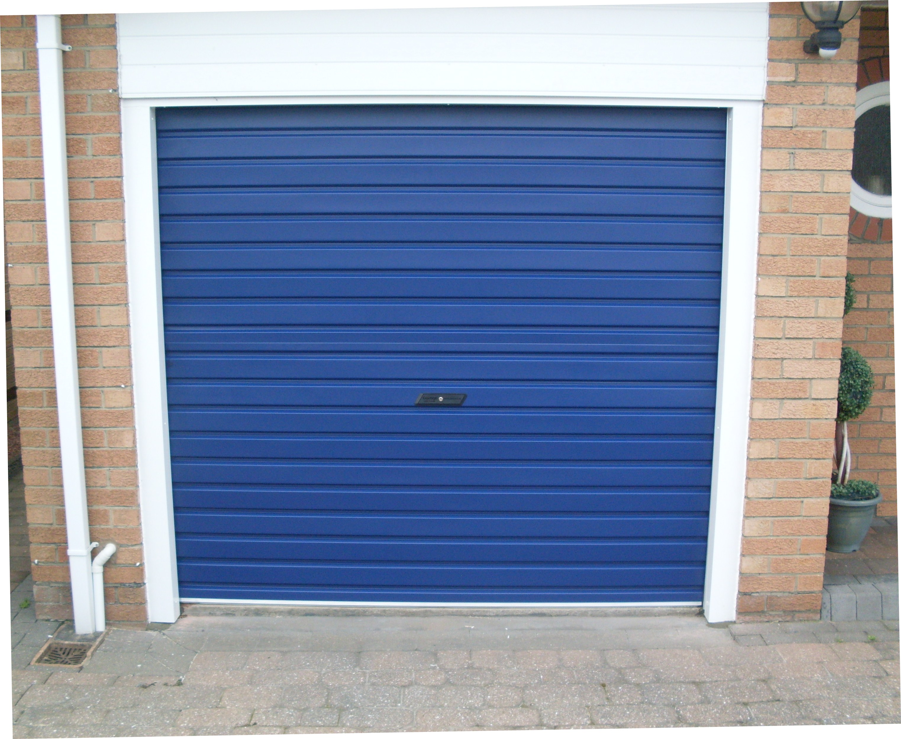 garage single up types wooden portfolio roll door slat king